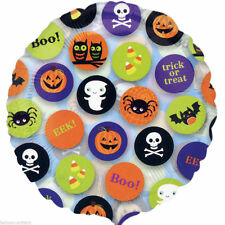 Halloween Round Party Foil Balloons
