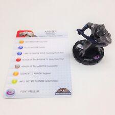 Heroclix Halo 10th Anniversary Arbiter (Beam Rifle) #036 Super Rare fig w/card!