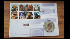 Royal Mail Limited edition 750- Star Wars R2D2 Silver Proof Medal/Coin-622/750