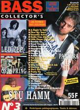 "BASS COLLECTOR'S #3 ""Pantera,Stu Hamm,Offspring,Led Zeppelin,Matmatah""(REVUE)"