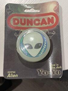 Duncan - Alien Glow In The dark Yo-Yo ~ Yo Yo New Sealed In Package -USA -