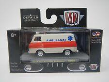 M2 Machines Ford 1964 Econoline Ambulance WMTS10