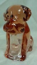 Boyd Pooche Pooch Dog Light Rose Glass 2/15/1983