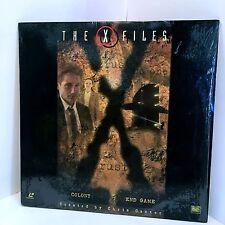 X-Files Laserdisc Episodes 2x16 & 2x17 (PRISTINE CONDITION)