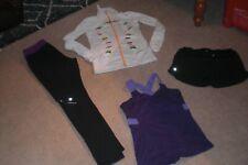 Lot of Lululemon Pants, Stride Jacket,  Shorts and Tank sz 8