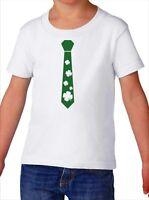 Toddler Lucky Tie Shirt Party T-Shirt Shamrock Saint Patricks Day Gift Boys Kids