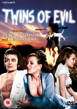 Twins of Evil DVD (2006) Peter Cushing ***NEW***