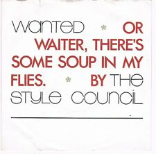"""Style Council-Wanted/The cost of loving (2 Versionen)/7""""Single 1987"""