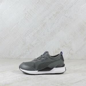 Nursery Puma RS 0 Basis Grey/Grey Trainers (TGF54) RRP £39.99