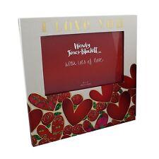 Te Amo Corazón Rojo & Rose Portaretrato Haciendo Juego Con Caja de regalo de San Valentín wj121lv