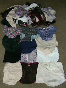 knickers Job Lot Bundle 50 Pieces Pairs Short Brief Thong Mixed Brands Wholesale