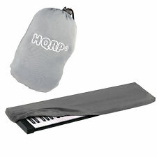 Hqrp Elastic Dust Cover Case with Bag for Korg Lp-180 Sp-170 Sp-170Srd Keyboard