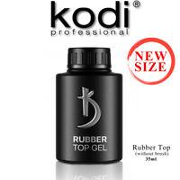 NEW Size! TOP Rubber 35ml. Kodi Professional Rubber Gel nail LED/UV ORIGINAL!
