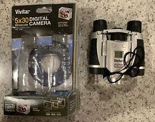 New listing Brand New In Package Vivitar Viv-Cv-530-V 5x30 Digital Camera Binocular