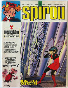 B) Spirou N º 1767 ; Con La Documentación Natural