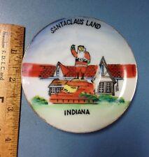 Vintage Santa Claus Land Souvenir Plate