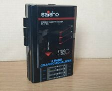 More details for ps17eq saisho walkman cassette tape player fm radio  portable fully working