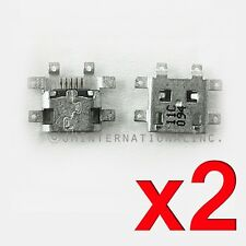 2 x MOTOROLA XOOM mz604 Tablet USB Charging Port Dock Anschluss Reparatur Teil USA