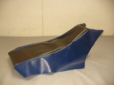 1988-1991 YAMAHA  SNOSCOOT  *BLUE / BLK.*  SNOWMOBILE SEAT COVER  *NEW*