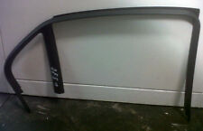 SAAB 9-3 93 Near Side Left Rear Door Strip Trim Window Plastic 03 - 05 12785029