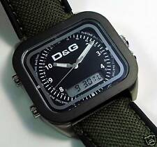 D&G DOLCE & GABBANA VOCALS, Alarm-Chronograph, DW0297, neu