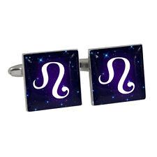 LEO Zodiac Glyph Symbol Astrology Star Sun Sign Cufflinks BNIB
