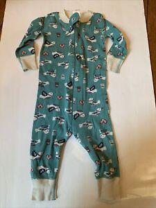 Hanna Andersson Organic Doves Peace Christmas  Pajamas Size 70 9-18 Mths