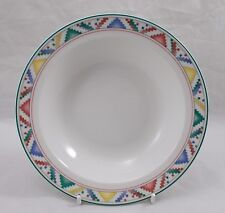 Villeroy & and Boch INDIAN LOOK rimmed salad bowl / dish 20cm UNUSED