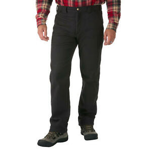 NWT Men's Phantom Grey COLEMAN Fleece Lined Utility Pants 38X32