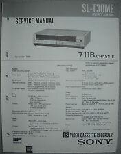 SONY SL-T30ME Service Manual inkl.Correction 1 + 2