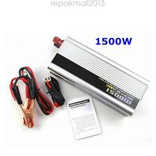 Perfect Style 1500W 24V DC to 240V AC Car Pure Sine Wave Power Inverter