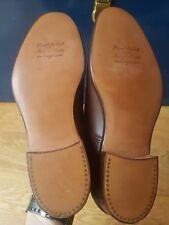Splendide scarpe vintage TRICKERS in pelle fatto a mano tutti i 7.5 4 GRATIS UK