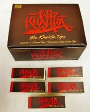 5X  NEW *WIZ KHALIFA TIPS 50 Tips Per Pack 250 Total Free Ship