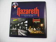 NAZARETH - CLOSE ENOUGH / PLAY'N' THE GAME - CD LIKE NEW CONDITION VINYL REPLICA