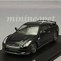 KYOSHO KS07047A11 NISSAN SKYLINE GT-R R35 1/64 DIECAST MODEL CAR BLACK