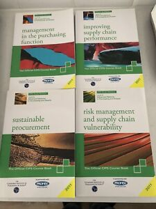 Cips Level 5 Profex Purchasing And Supply Chain Study Books X 4