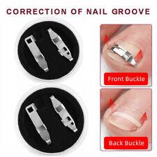 4 Nagelspange Eingewachsene Zehennagel Korrektur Nagel Fixer Pediküre Fuß Pflege