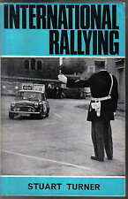 International Rallying by Stuart Turner Mini Cooper Rover MGB BMC Ford Healey +