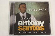 Antony Santos -  El mayimbe !!! - La Tristeza De M Carta -  Music CD