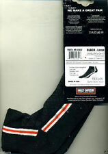 HARLEY Black Sta-Cool Socks size: L -NWT..