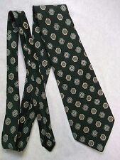 Vintage TOOTAL Tie Mens Wide Necktie Retro Fashion DARK GREEN