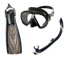 Atomic Aquatics Subframe Mask Split Fins Snorkel Set
