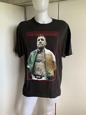 Men's Conor McGregor Tshirt Size XXL UFC 2XL Adult Notorius MMA