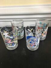 Disney Mcdonalds Remember The Magic 25th Anniversary Set Of 4 Glasses Cups