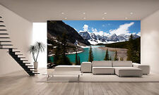Lake in Canada Wall Mural Photo Wallpaper GIANT DECOR Paper Poster Free Paste