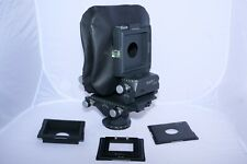 Linhof M679CC Medium Format Film Camera Kit with W.A. bellows, 3 boards, Case