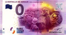 55 VERDUN La bataille de Verdun, 2016, Billet 0 € Souvenir