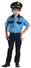 Dress up America Deluxe Police Chief Role Play Set Costume For Kids - Ages 3-6