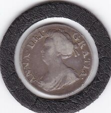 1706   Queen  Anne    Maundy   Three  Pence  (m3d)  Coin  (92.5% Silver)