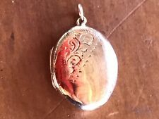 9 Ct Rose Gold Back And Front Locket